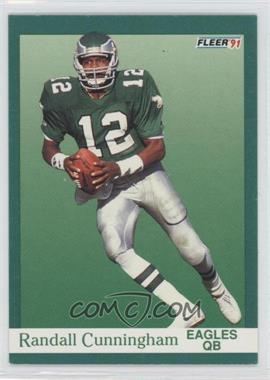1991 Fleer - [Base] #326 - Randall Cunningham