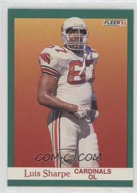 1991 Fleer - [Base] #348 - Luis Sharpe