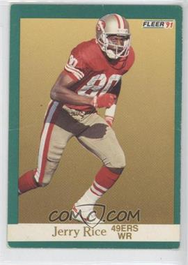 1991 Fleer - [Base] #363 - Jerry Rice