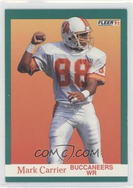1991 Fleer - [Base] #370 - Mark Carrier