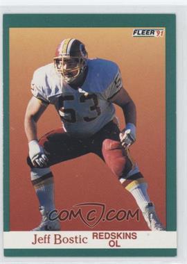 1991 Fleer - [Base] #382 - Jeff Bostic