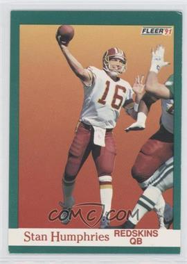 1991 Fleer - [Base] #387 - Stan Humphries