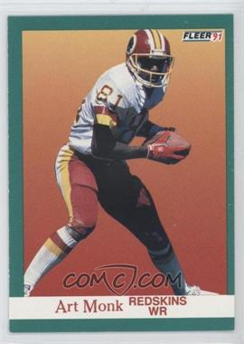 1991 Fleer - [Base] #391 - Art Monk