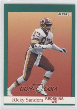 1991 Fleer - [Base] #394 - Ricky Sanders