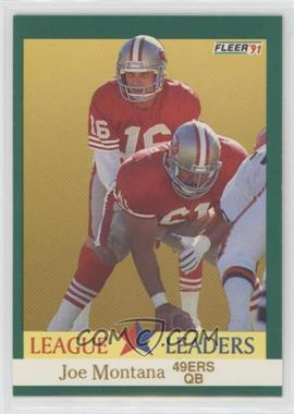 1991 Fleer - [Base] #408 - Joe Montana