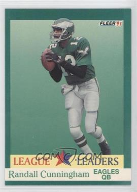 1991 Fleer - [Base] #409 - Randall Cunningham