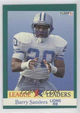 1991 Fleer - [Base] #415 - Barry Sanders