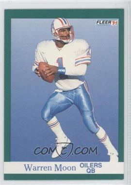 1991 Fleer - [Base] #70 - Warren Moon