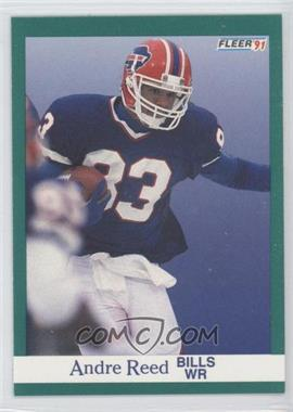 1991 Fleer - [Base] #8 - Andre Reed