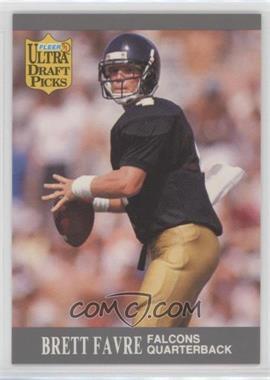 1991 Fleer Ultra - [Base] #283 - Brett Favre