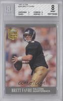 Brett Favre  [BGS 8 NM‑MT]