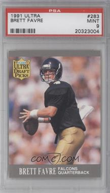 1991 Fleer Ultra - [Base] #283 - Brett Favre  [PSA 9]