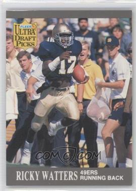 1991 Fleer Ultra - [Base] #297 - Ricky Watters