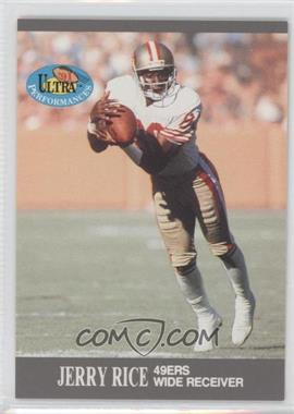 1991 Fleer Ultra - Performances #9 - Jerry Rice