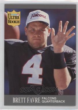 1991 Fleer Ultra Update - [Base] #U-1 - Brett Favre