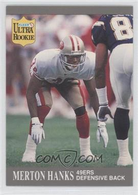 1991 Fleer Ultra Update - [Base] #U-86 - Merton Hanks
