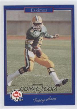 1991 Jogo CFL - [Base] #1 - Tracy Hayworth
