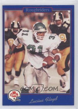 1991 Jogo CFL - [Base] #116 - Lucius Floyd