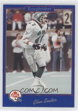 1991 Jogo CFL - [Base] #136 - Glen Suitor