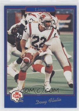 1991 Jogo CFL - [Base] #177 - Doug Flutie
