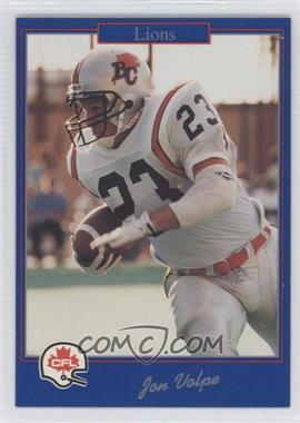 1991 Jogo CFL - [Base] #183 - Joe Vodicka