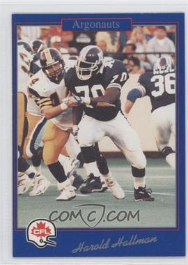 1991 Jogo CFL - [Base] #192 - Harold Hallman