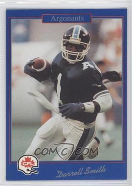 1991 Jogo CFL - [Base] #206 - Daryle Smith