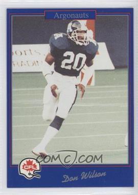 1991 Jogo CFL - [Base] #214 - Doug Widell
