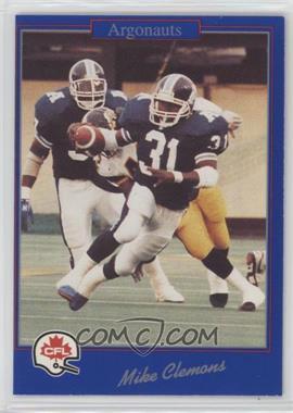 1991 Jogo CFL - [Base] #217 - Michael Clemons