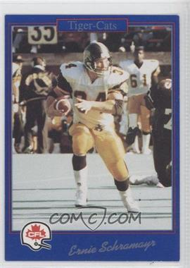 1991 Jogo CFL - [Base] #85 - Ernie Schramayr
