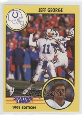 1991 Kenner Starting Lineup - [Base] #11 - Jeff George