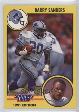 1991 Kenner Starting Lineup - [Base] #20 - Barry Sanders