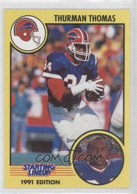 1991 Kenner Starting Lineup - [Base] #34 - Thurman Thomas