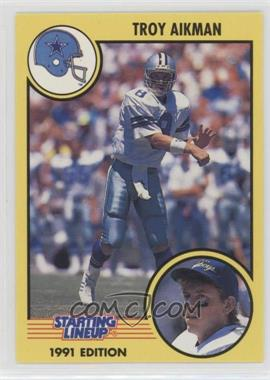 1991 Kenner Starting Lineup - [Base] #8 - Troy Aikman