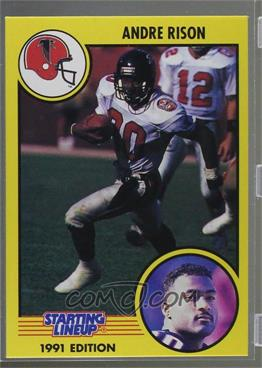 1991 Kenner Starting Lineup - [Base] #80 - Andre Rison