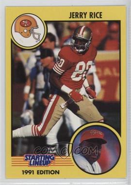 1991 Kenner Starting Lineup - [Base] #JERI - Jerry Rice