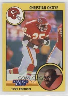 1991 Kenner Starting Lineup - [Base] #N/A - Christian Okoye