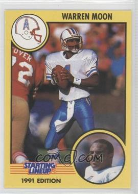 1991 Kenner Starting Lineup - [Base] #N/A - Warren Moon