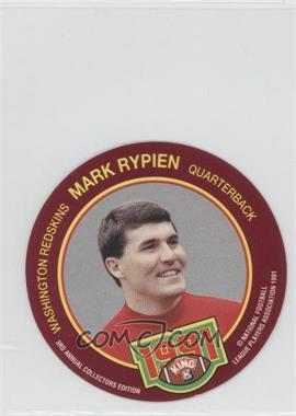1991 King-B Collector's Edition Discs - [Base] #1 - Mark Rypien