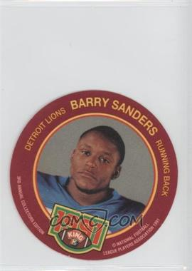 1991 King-B Collector's Edition Discs - [Base] #16 - Barry Sanders