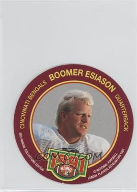 1991 King-B Collector's Edition Discs - [Base] #20 - Boomer Esiason