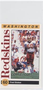 1991 Mobil Washington Redskins Police - [Base] #5 - Fred Stokes