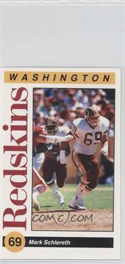 1991 Mobil Washington Redskins Police - [Base] #69 - Mark Schlereth