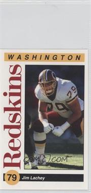 1991 Mobil Washington Redskins Police - [Base] #79 - Jim Lachey