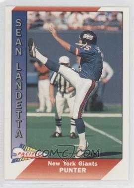 1991 Pacific - [Base] #35 - Sean Landeta