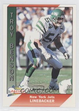 1991 Pacific - [Base] #380 - Troy Benson
