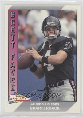 1991 Pacific - [Base] #551 - Brett Favre
