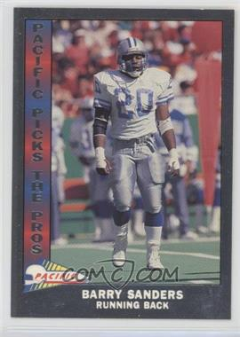 1991 Pacific - Pacific Picks The Pros - Silver #11 - Barry Sanders