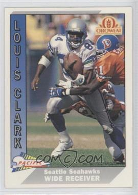 1991 Pacific Oroweat Seattle Seahawks - [Base] #30 - Louis Clark