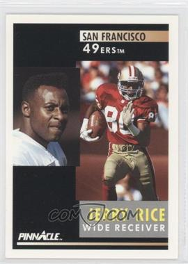 1991 Pinnacle - [Base] #103 - Jerry Rice